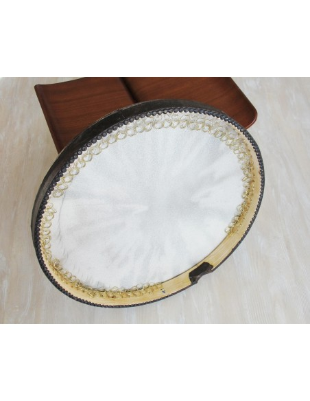 DAF persan, IRAN, tambourin + housse, percu, frame drum