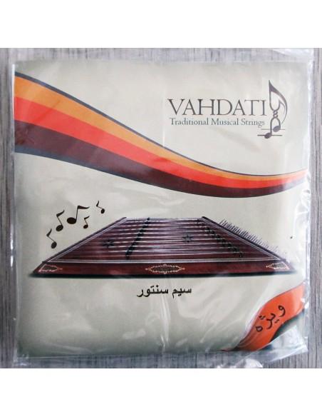 SET 72 CORDES SANTOOR VAHDATI persan luthier STRINGS NEUF